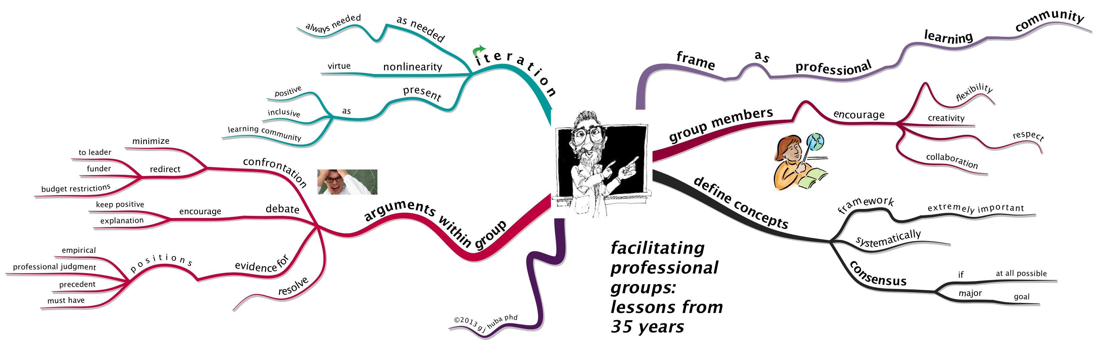 facilitating professional groups