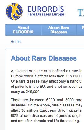 EU rare disease