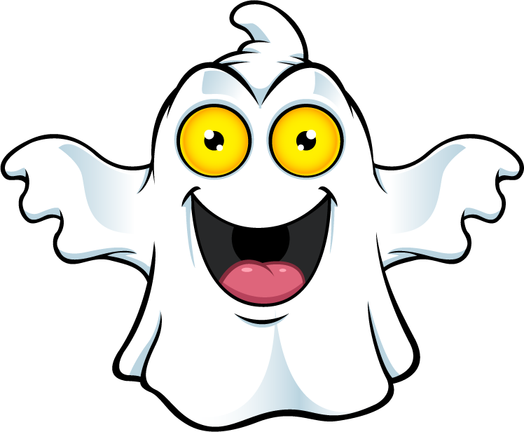 Ghost Character - Big Smile